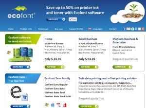 Clicca qui per il sito ufficiale Ecofont