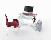 posizione pc dentro scrivania