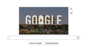doodle celebrativo 25 anni caduta muro Berlino