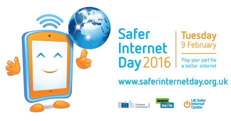 logo ufficiale - official safer internet day 2016