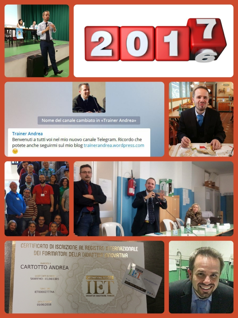 collage foto anno 2016 lavoro