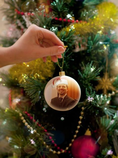 Pallina di Natale con Andrea