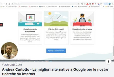 copertina video Cartotto motori di ricerca alternativi a Google